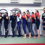 Girls Fight samoobrona sporty walki sztuki walki kickboxing ju-jitsu dla kobiet jedyna taka grupa w Toruniu