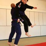 Rzut suplex, ura-nage judo zapasy bjj
