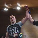 Michał Huczuk wygrana przez gilotynę na Mistrzostwach Europy