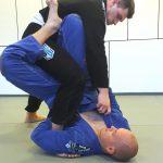 Anakonda ashi-garami dźwignia na nogę brazylijskie jiu-jitsu