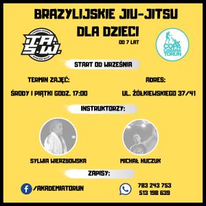 brazylijskie jiu-jitsu dla dzieci toruń, sztuki walki dla dzieci